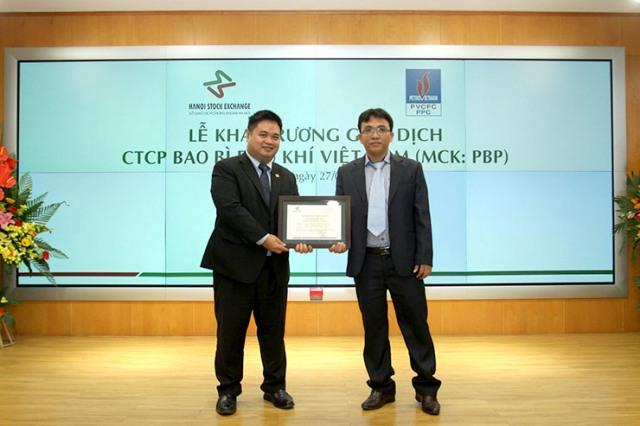 PBP – Phiên giao dịch đầu tiên thành công